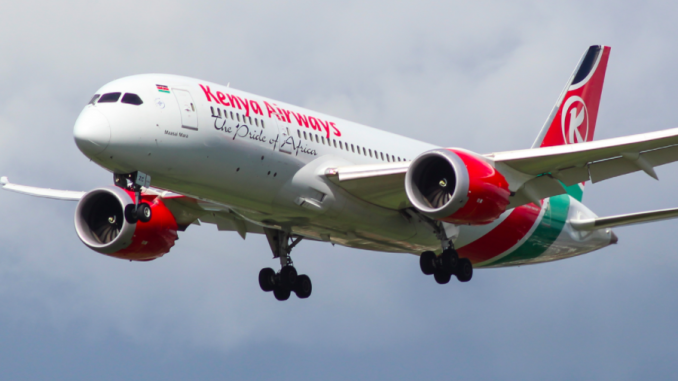 Momentous Kenya-America flight launched