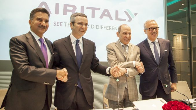 'Qatar maroon' features in Air Italy livery