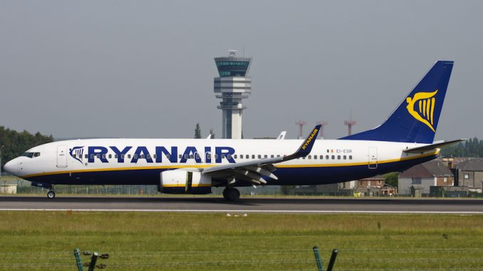 Low-priced carrier Ryanair begins first flights to Jordan