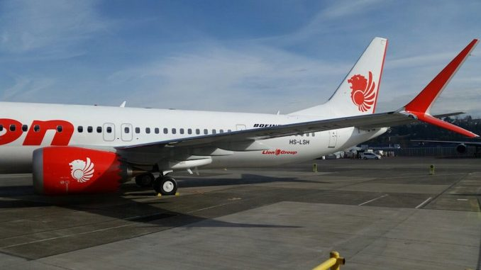 Boeing Delivers First Boeing 737 MAX 9 Aircraft to Thai Lion Air