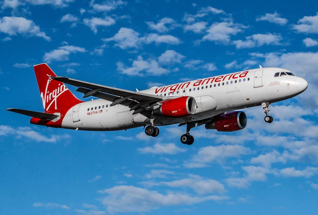 Virgin america 39 s upcoming final flights mark the end of an for Virgin america a321neo cabin