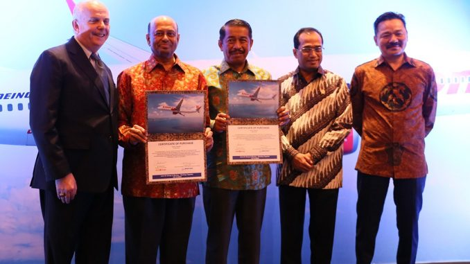 Lion Air Group Orders 50 737 MAX 10 Aircraft