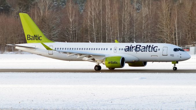 Air Baltic Announces Order for Additional Bombardier CS300s