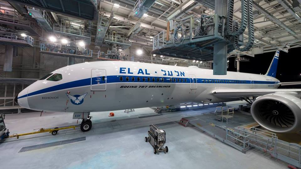El Al Goes Retro with New 787 Special Livery | AirlineGeeks com