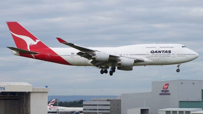 Qantas Retires Another 747 to California Desert | AirlineGeeks com
