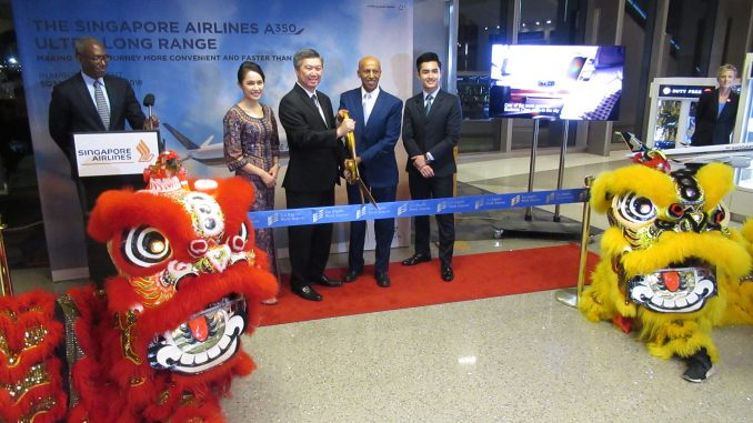 Singapore Airlines Resumes Nonstop Flight to Los Angeles ...