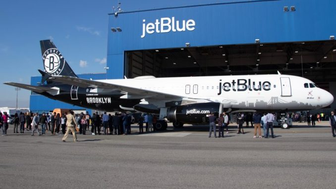 JetBlue Unveils Brooklyn Nets Special Livery | AirlineGeeks com