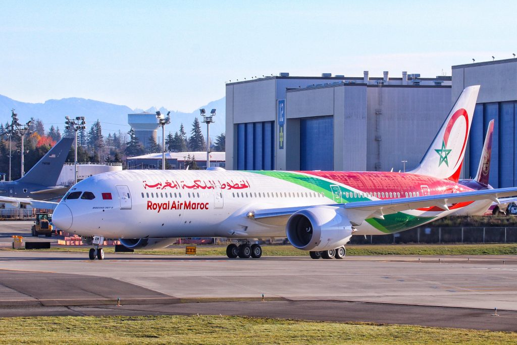 Royal Air Maroc Debuts Newly-Delivered Boeing 787-9