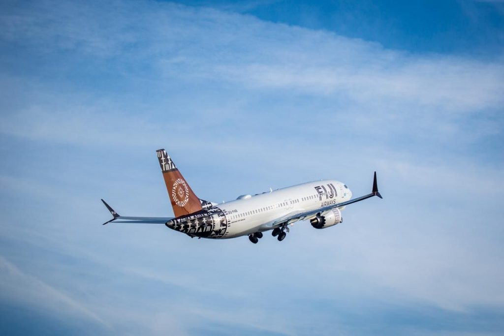 Fiji Airways is the first South Pacific airline to take delivery of a MAX aircraft