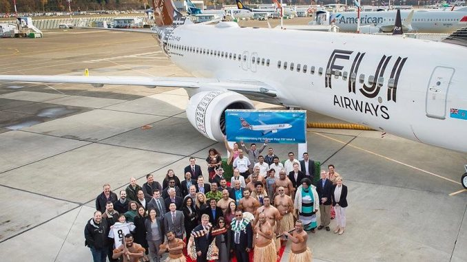 Fiji Airways receives first Boeing MAX 8