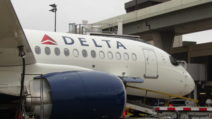 Brilliant Delta Goes Big With A220 Launch Airlinegeeks Com Machost Co Dining Chair Design Ideas Machostcouk