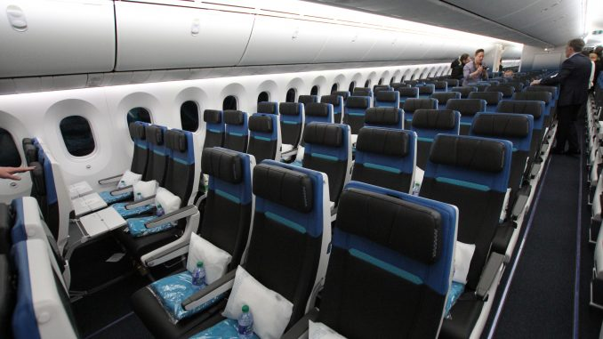 Photo Tour: Onboard WestJet's New Boeing 787-9 Dreamliner