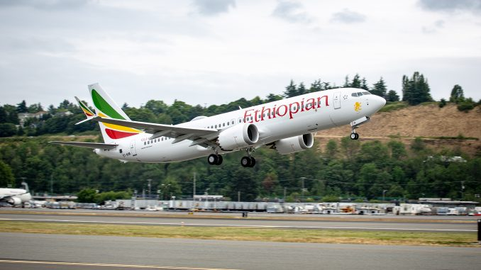 Ethiopian Airlines Boeing 737 to Nairobi crashes