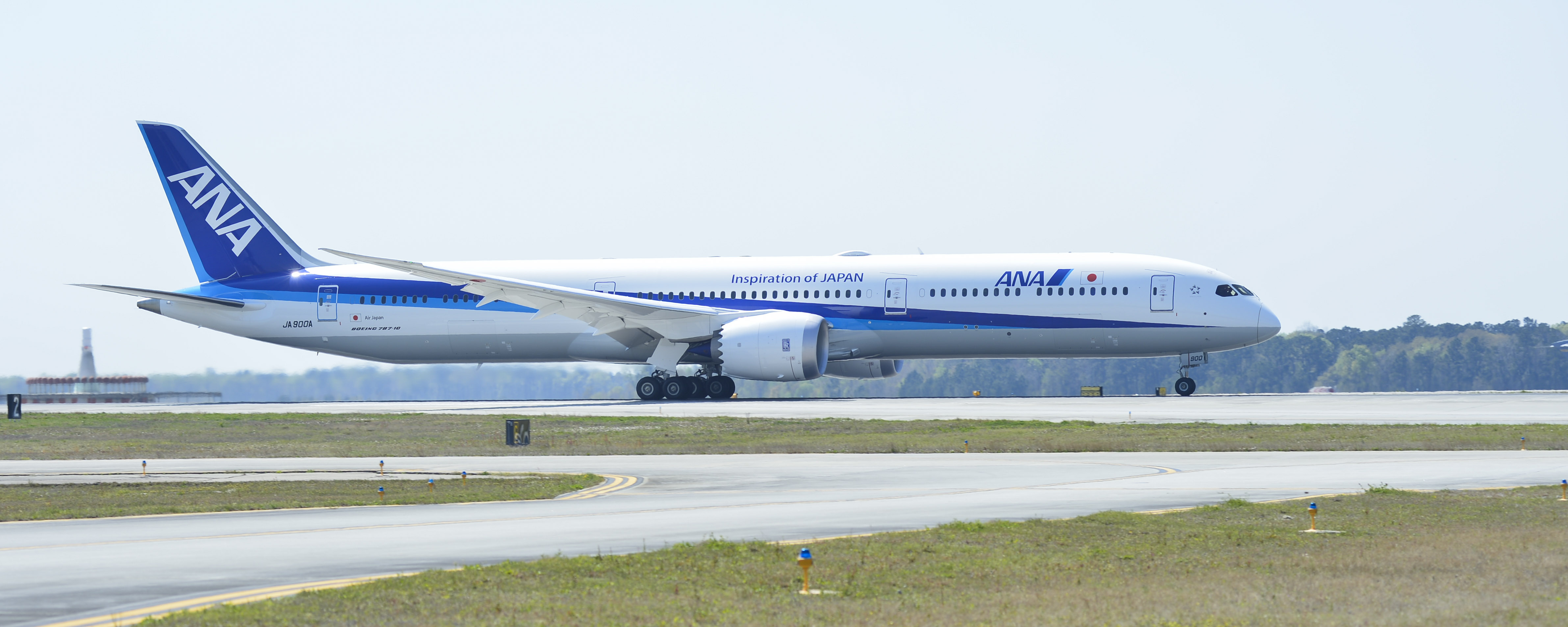 All Nippon Airways Receives First 787-10 Dreamliner | AirlineGeeks com