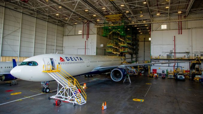 Delta Debuts New A330-900neo Early on Seattle to Shanghai Route