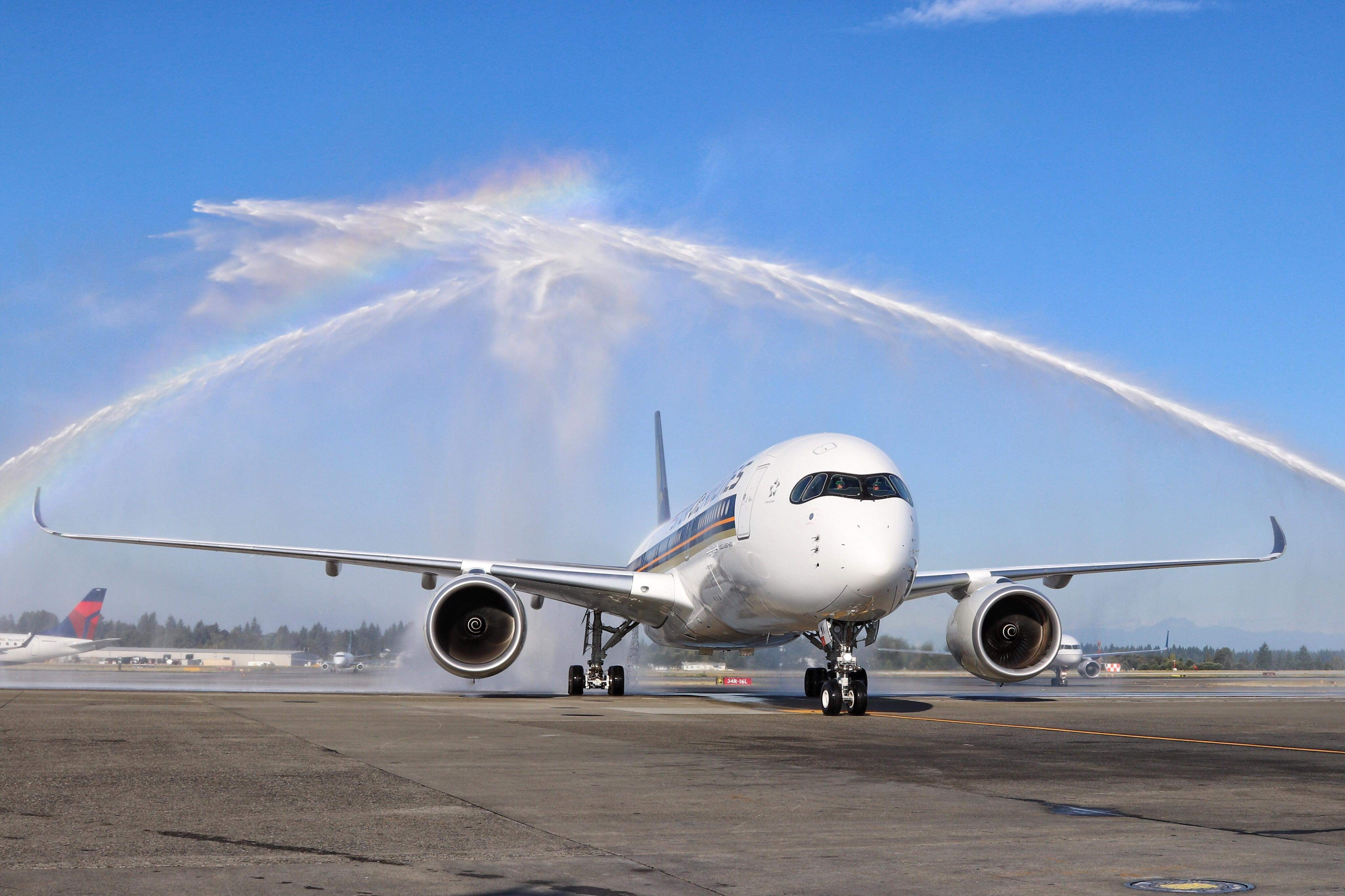 Seattle's Longest Flight Takes Off on Singapore Airlines