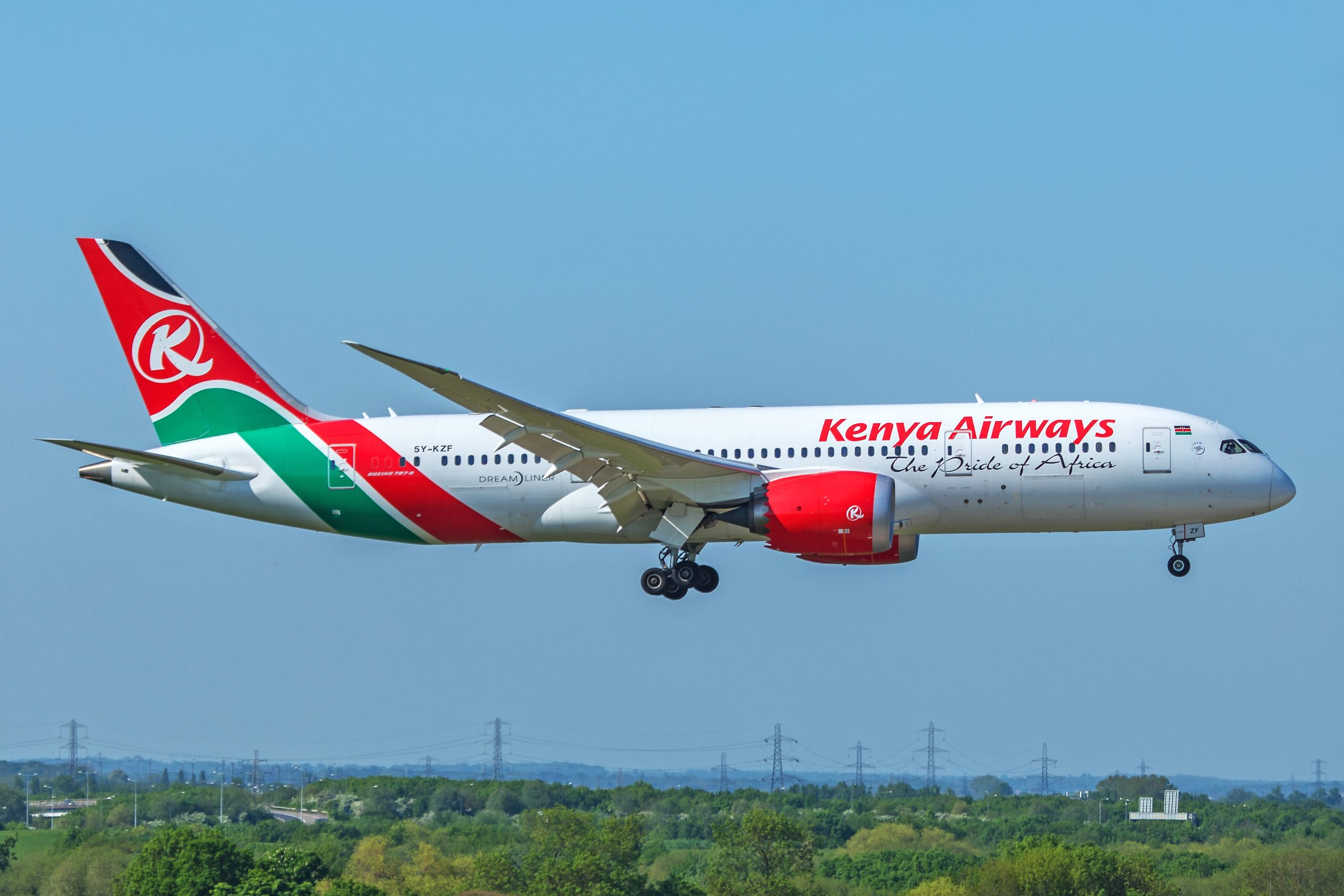 Kenya Airways B7878 LHR William Derrickson