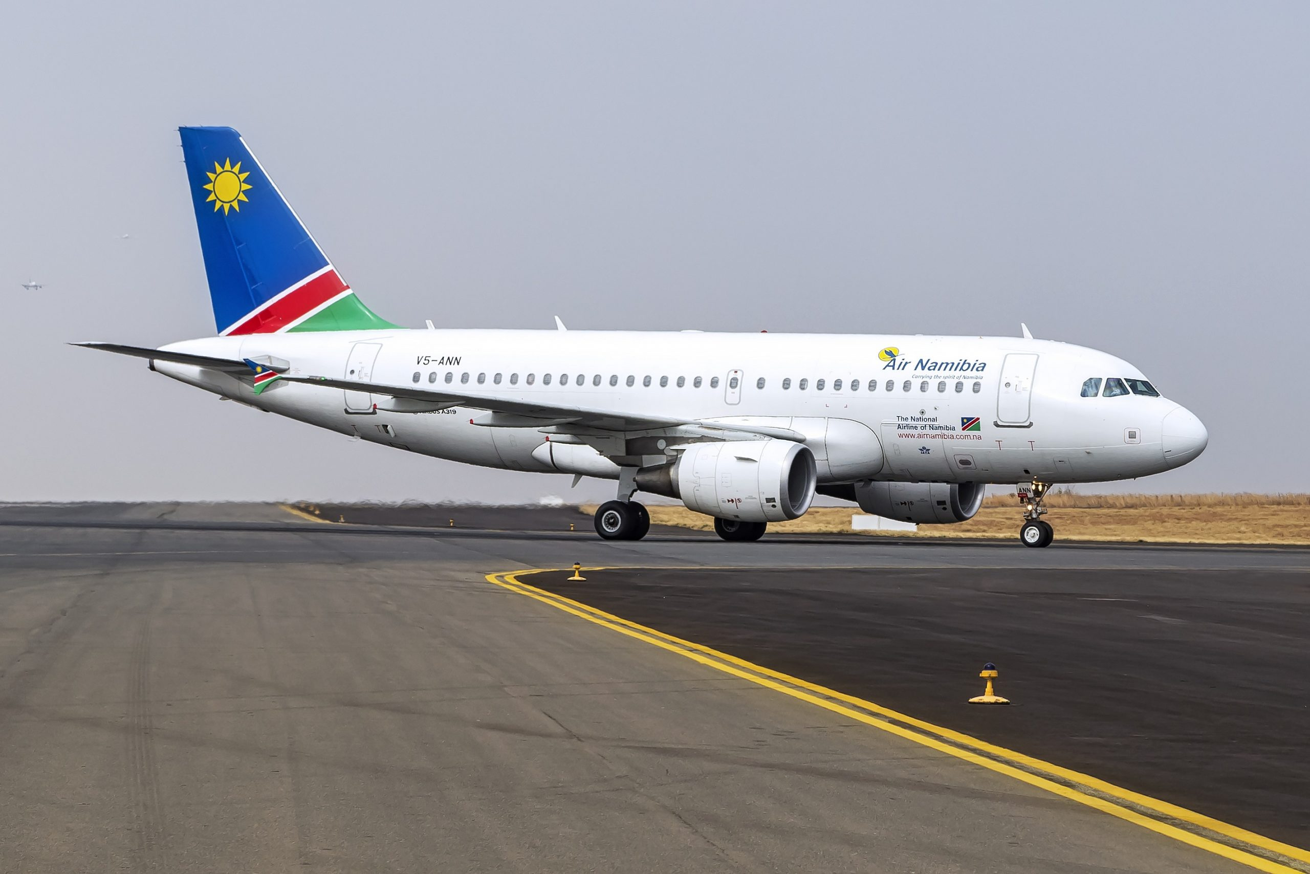 An Air Namibia Airbus A319-100 (Photo: Air Namibia)