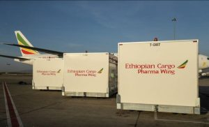 Ethiopian will be a major player in the transportation of the COVID-19 vaccine around the world. Source Ethiopian