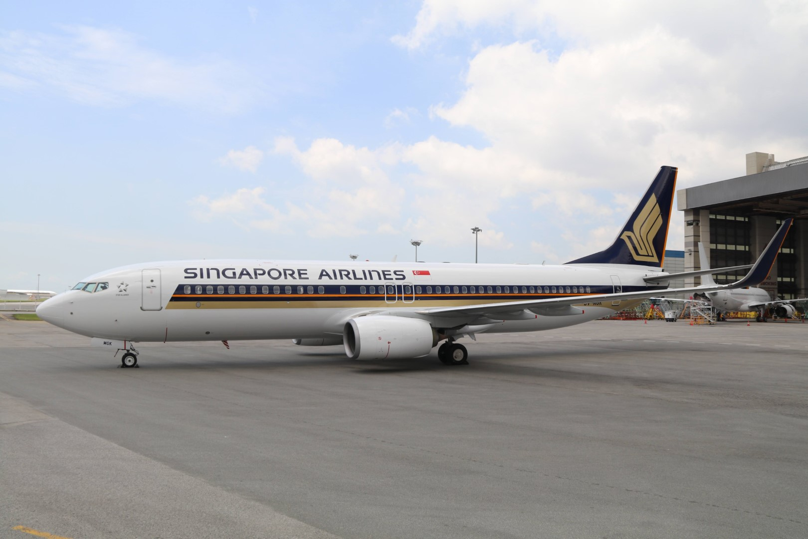 A Singapore Airlines Boeing 737-800 (Photo: Singapore Airlines)