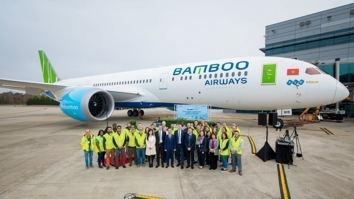 Bamboo Airways Boeing 787-9 Dreamliner