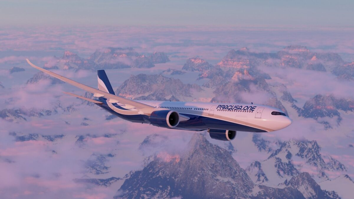 A Pragusa.One Airbus A330-300 (Photo: Pragusa.One)